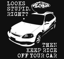Keep Rice Off Your Car One Piece - Long Sleeve