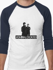 I AM LOCKED: JOHN-LOCKED Men's Baseball ¾ T-Shirt