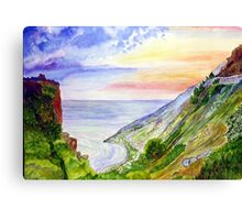 Sea Of Space Canvas Print