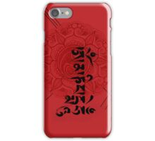 Om  Mani Padme Hum iPhone Case/Skin