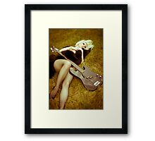 safe Framed Print