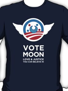 Moon President Power T-Shirt