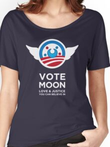 Moon President Power Women's Relaxed Fit T-Shirt