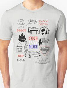 Les Miserables Quotes Unisex T-Shirt