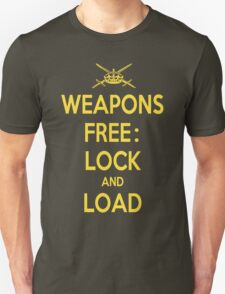 Weapons Free: Lock N Load T-Shirt