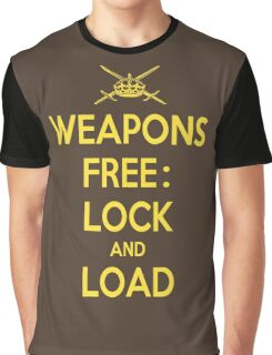 Weapons Free: Lock N Load Graphic T-Shirt