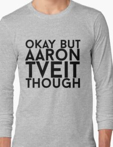 Aaron Tveit Long Sleeve T-Shirt