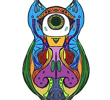 Owl of Colour by -Annabeth