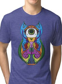 Owl of Colour Tri-blend T-Shirt