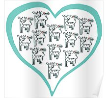 We love cows Poster