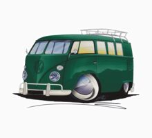 VW Splitty (11 Window) I by Richard Yeomans