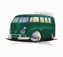 VW Splitty (11 Window) I by Richard Yeomans