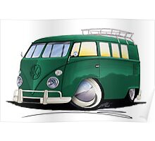 VW Splitty (11 Window) I Poster