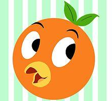 Lil Orange Bird by spectromagiic