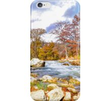 Along The River In Fall iPhone Case/Skin