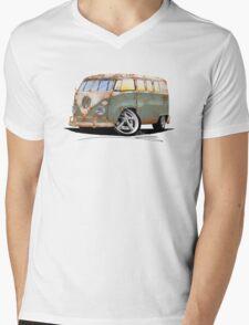 VW Splitty (11 Window) O Mens V-Neck T-Shirt