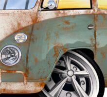 VW Splitty (11 Window) O Sticker