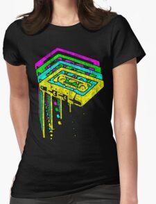 Cassette Neon Grunge  T-Shirt