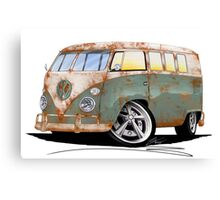 VW Splitty (11 Window) O Canvas Print