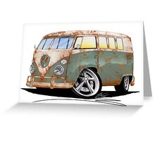 VW Splitty (11 Window) O Greeting Card