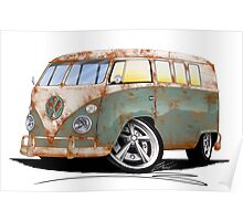 VW Splitty (11 Window) O Poster
