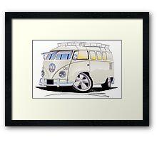 VW Splitty (11 Window) N Framed Print