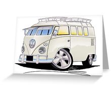VW Splitty (11 Window) N Greeting Card
