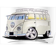VW Splitty (11 Window) N Poster
