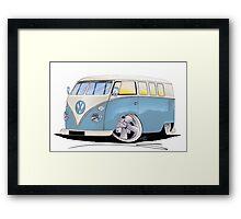 VW Splitty (11 Window) M Framed Print
