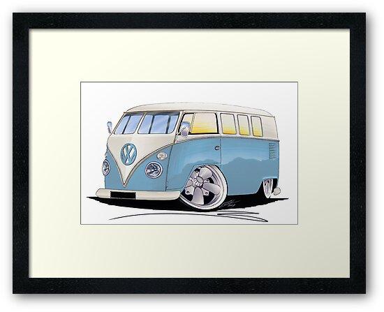 VW Splitty (11 Window) M by Richard Yeomans