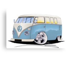 VW Splitty (11 Window) M Canvas Print