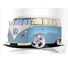 VW Splitty (11 Window) M Poster