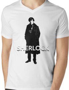 SHERLOCK - BBC Mens V-Neck T-Shirt