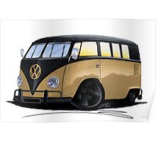 VW Splitty (11 Window) L Poster