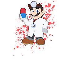 Dr Mario - Super Smash Bros Photographic Print