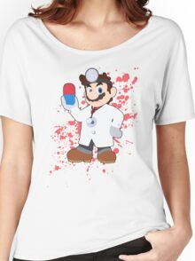 Dr Mario - Super Smash Bros Women's Relaxed Fit T-Shirt