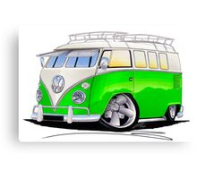 VW Splitty (11 Window) K Canvas Print