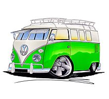 VW Splitty (11 Window) K Photographic Print