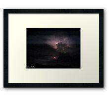 Lightning 2012 Collection 133 Framed Print