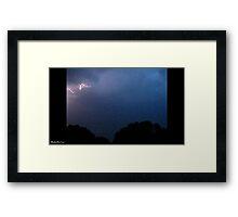 Lightning 2012 Collection 149 Framed Print