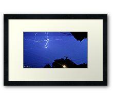 Lightning 2012 Collection 165 Framed Print