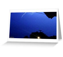 Lightning 2012 Collection 167 Greeting Card