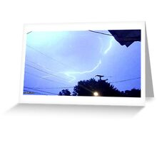Lightning 2012 Collection 171 Greeting Card