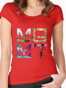 MGMT Albums Women's Fitted Scoop T-Shirt