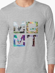 MGMT Albums Long Sleeve T-Shirt