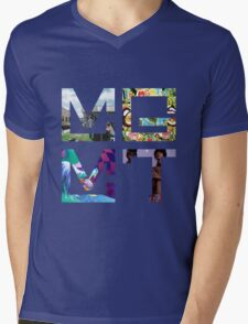 MGMT Albums Mens V-Neck T-Shirt