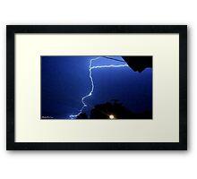 Lightning 2012 Collection 183 Framed Print