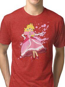 Peach - Super Smash Bros Tri-blend T-Shirt