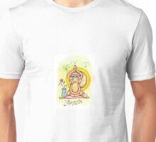 Namaste Monkey Unisex T-Shirt