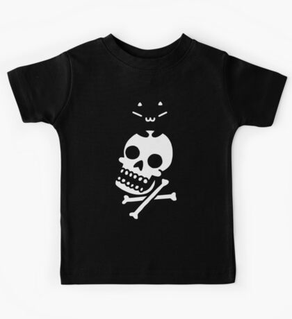 Cat And Crossbones Kids Tee